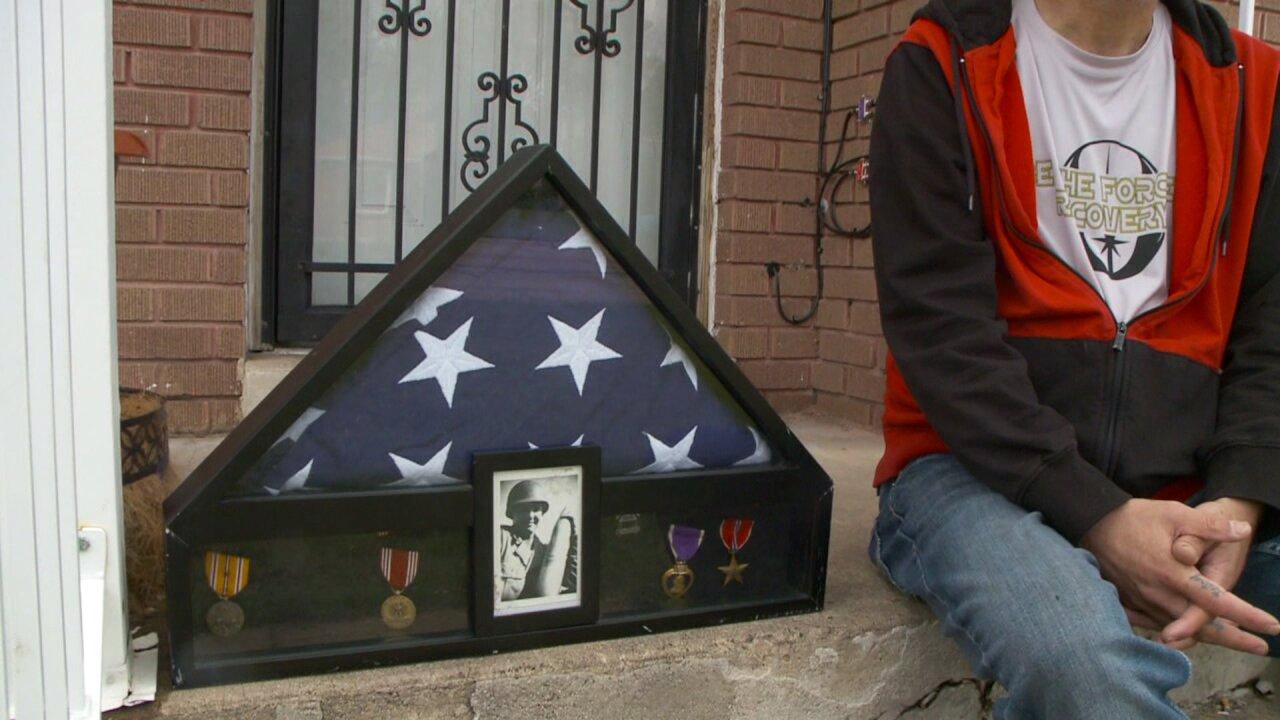 Roy man seeks veteran's family to return lost WWIIregalia