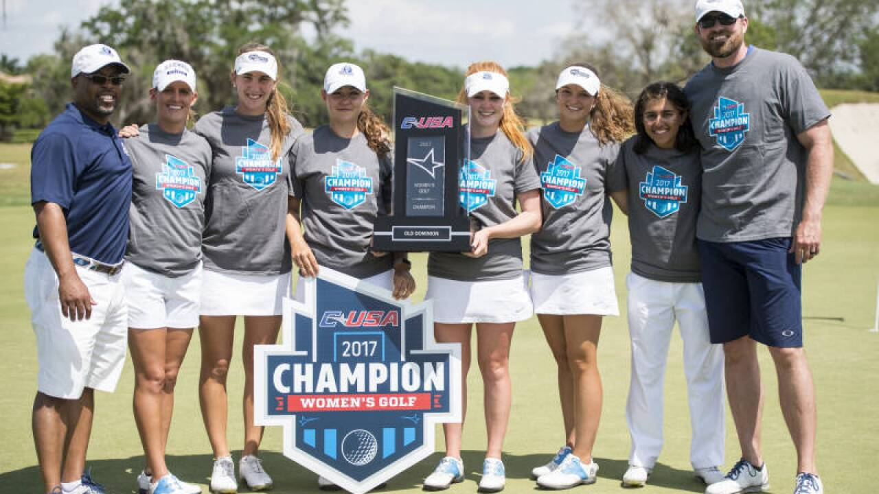 ODU claims Conference USA women's golftitle