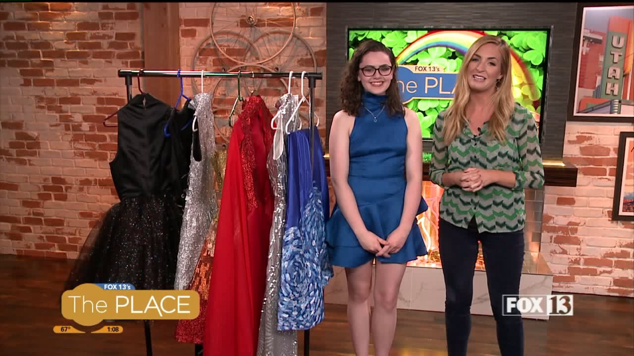 Project Runway Jr. star shows us her latest dresscollection
