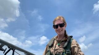 U.S. Navy Lt. Rhiannon Ross