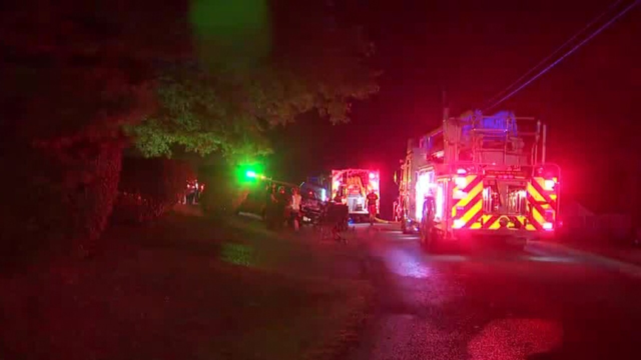 Fire Damages Home In Mt. Juliet