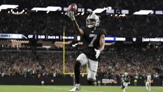 APTOPIX Ravens Raiders Football Zay Jones Week 1 2021 Season