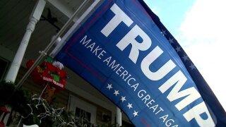 President Trump flag