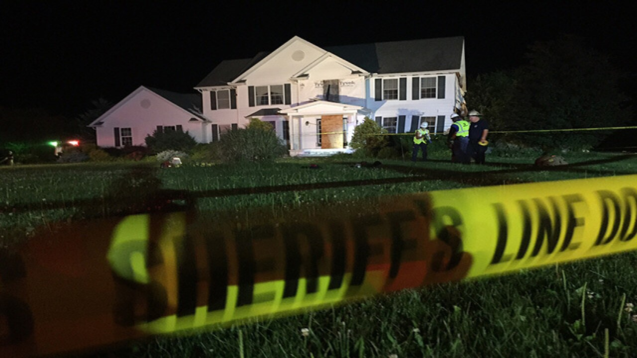House explosion, fire in Hambed Twp Thurs night