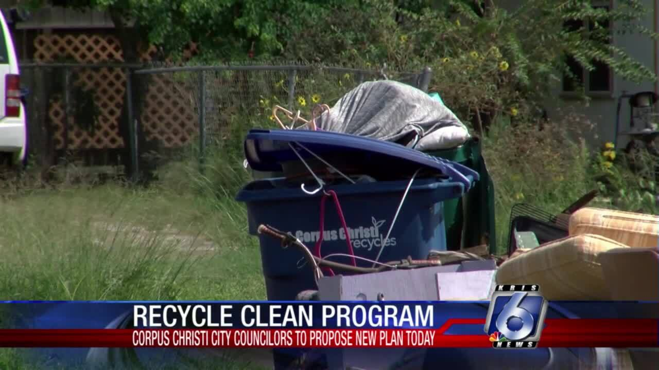 Council will discuss charging fees for contaminated recycling bins