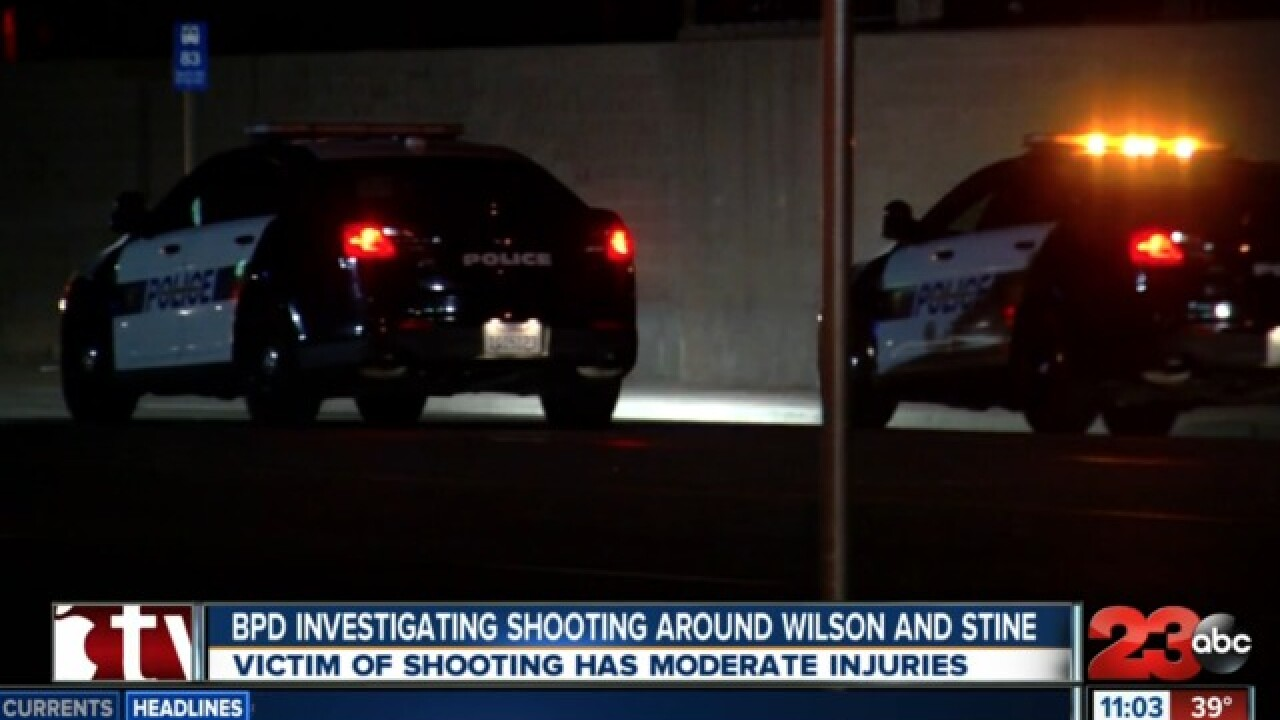 Bakersfield Police investigating after a shooting victim is found in southwest Bakersfield