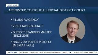 Grubich appointed to serve on the Eighth Judicial District Court in Great Falls
