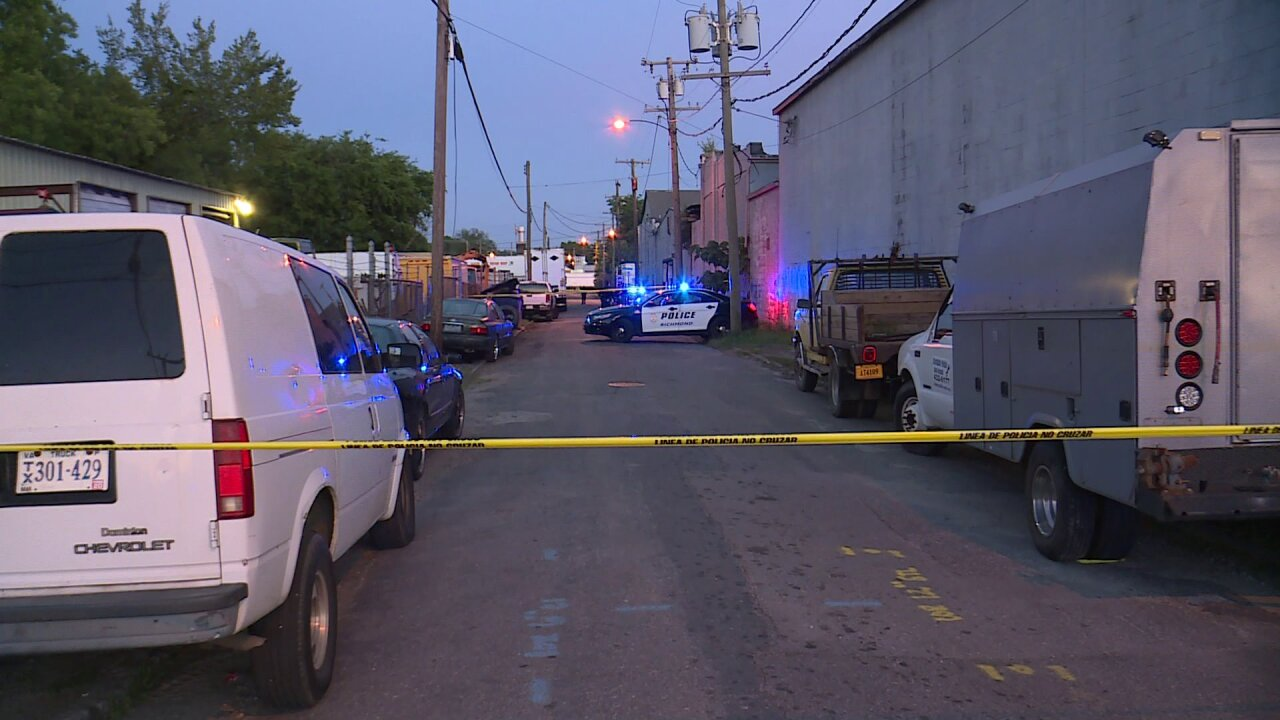 Man fighting for life following Richmond shooting, suspect detained