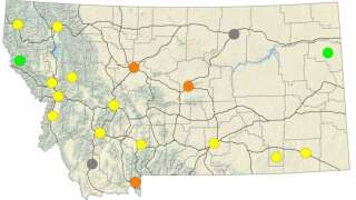Wildfire smoke is affecting air quality in and around Great Falls