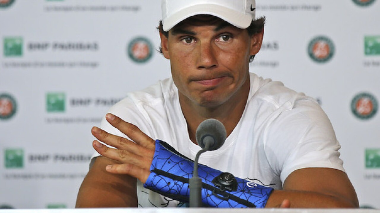 Rafael Nadal pulls out of Wimbledon due to wrist