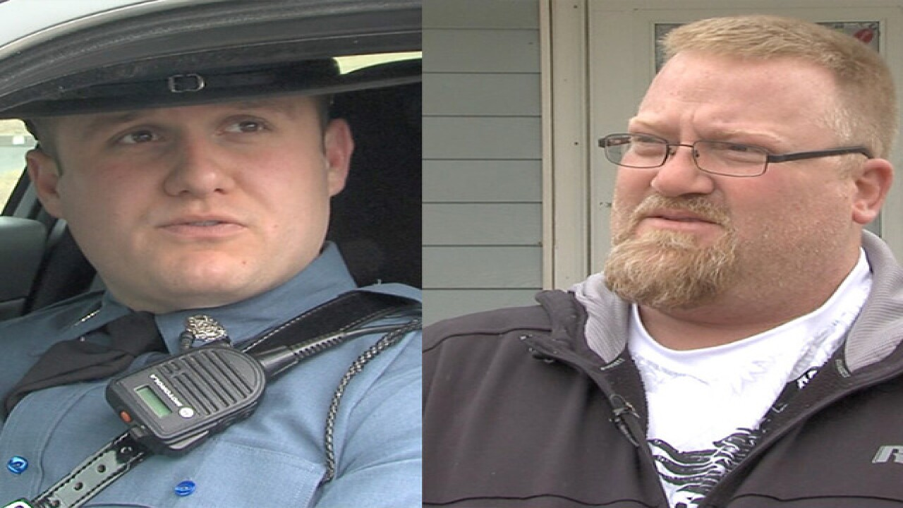 Good Samaritans save highway trooper during arrest