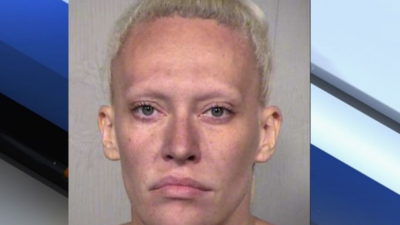 PD: Scottsdale woman arrested for throwing knives at ex-boyfriend