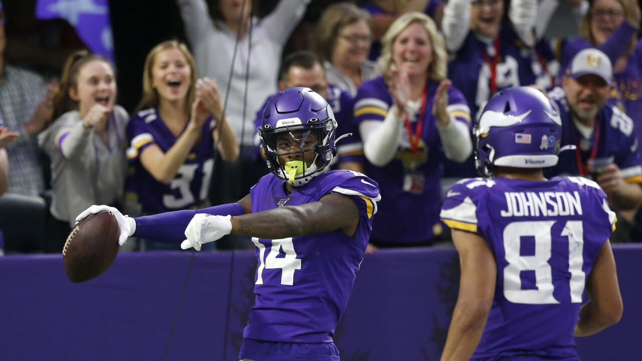 Report: Bills acquire WR Stefon Diggs from Vikings
