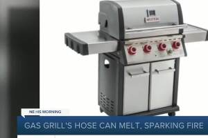 Bass Pro recalling MR. STEAK propane gas grill due to potential fire hazard