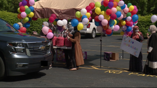 Islamic Center of Cleveland holds drive-thru Eid al-Fitr celebration