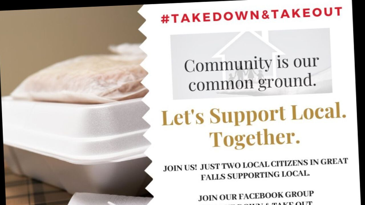 """GF Take Down & Take Out"" aims to support Great Falls restaurants"