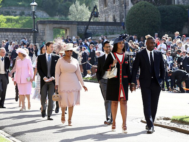 Oprah Winfrey Royal Wedding.Royal Wedding Oprah The Beckhams And Idris Elba Among Those In