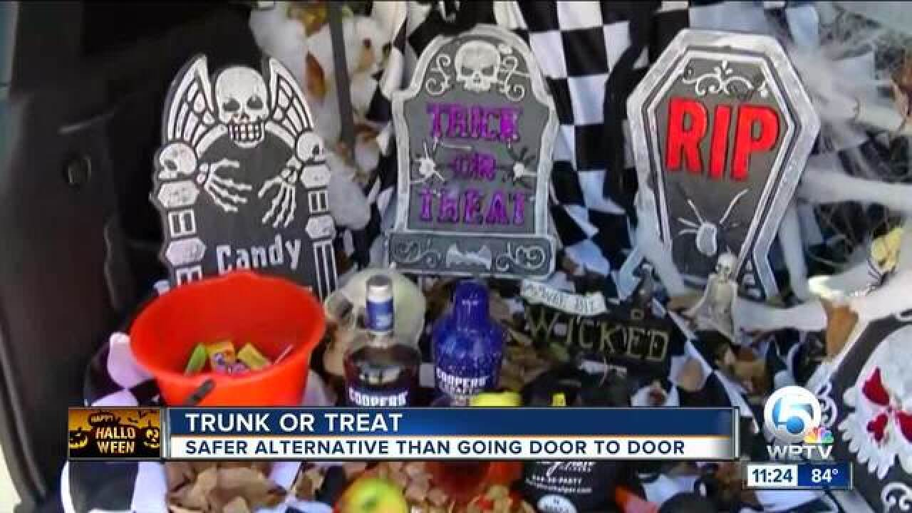 Trunk or Treat: Celebrating Halloween with different themes