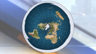 Proposed flat earth model