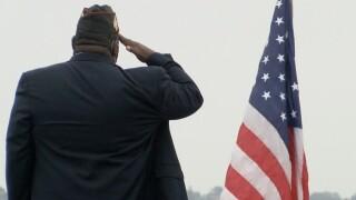 USS Midway ceremony