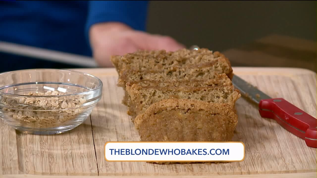 Quick Banana Bread recipe by The Blonde WhoBakes