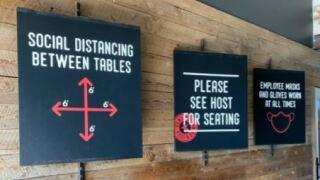 fox restaurants social distancing.JPG