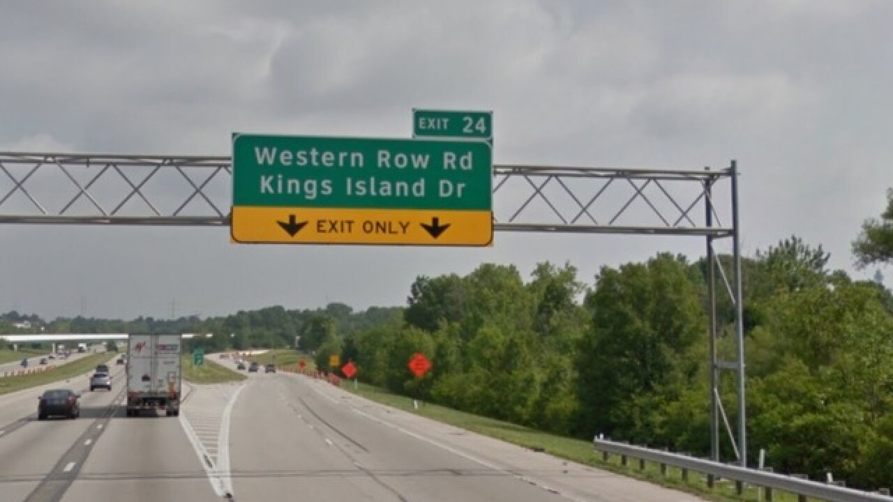 Kings Island Drive roadwork is done. Now the real work begins at Western Row Road and I-71 exchange