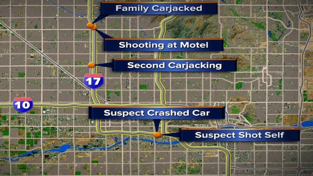 PHX FD: 5 injured in hotel shooting