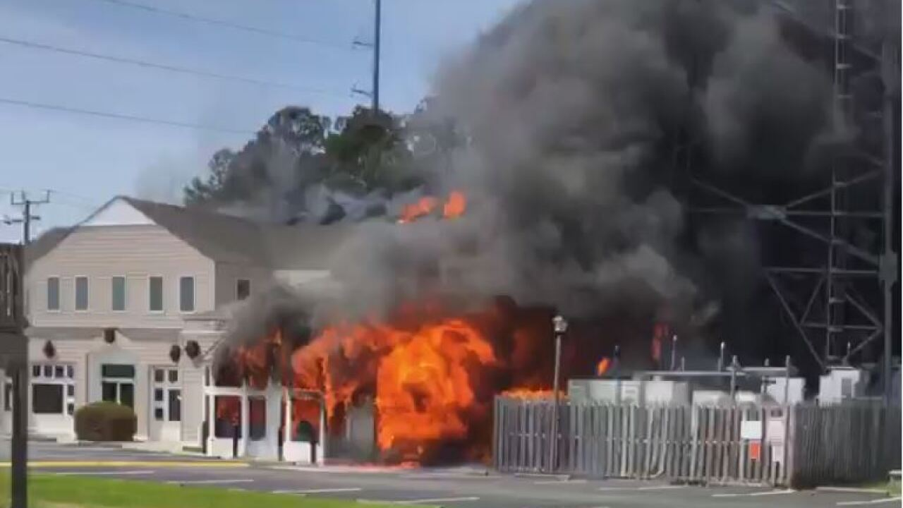 Outer Banks fire destroys The Christmas Mousestore