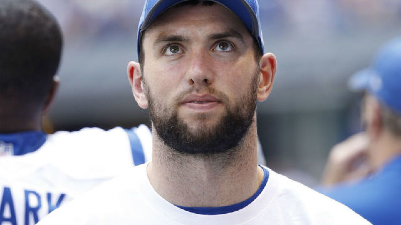 Colts' Andrew Luck will not play in Week 3 game against Cleveland Browns