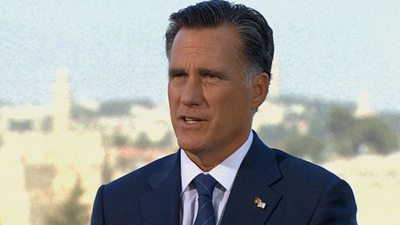 Romney to announce VP running mate