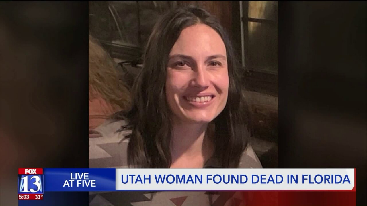 Family members confirm body of missing Utah woman has been found in Florida