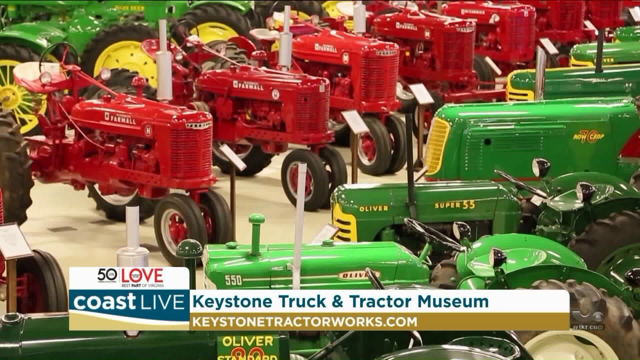 Previewing the Keystone Truck and Tractor Museum on Coast Live