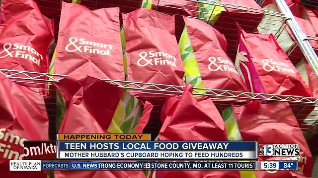 Las Vegas teens grows successful food pantry