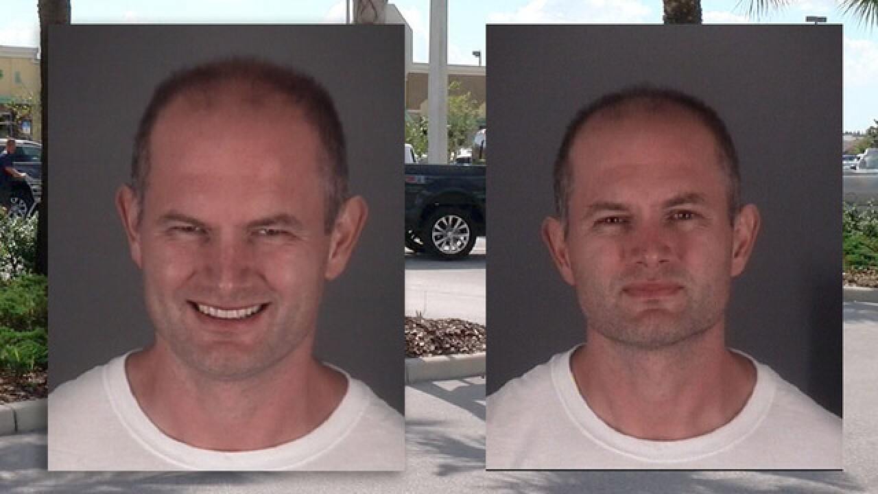 Florida man released from jail, arrested again in parking lot for trying to steal car