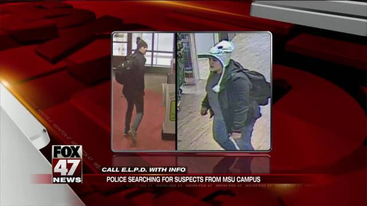 Police search for suspects of incidents at MSU