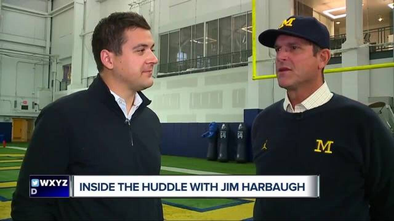 Harbaugh refuses to fuel MSU rivalry talk
