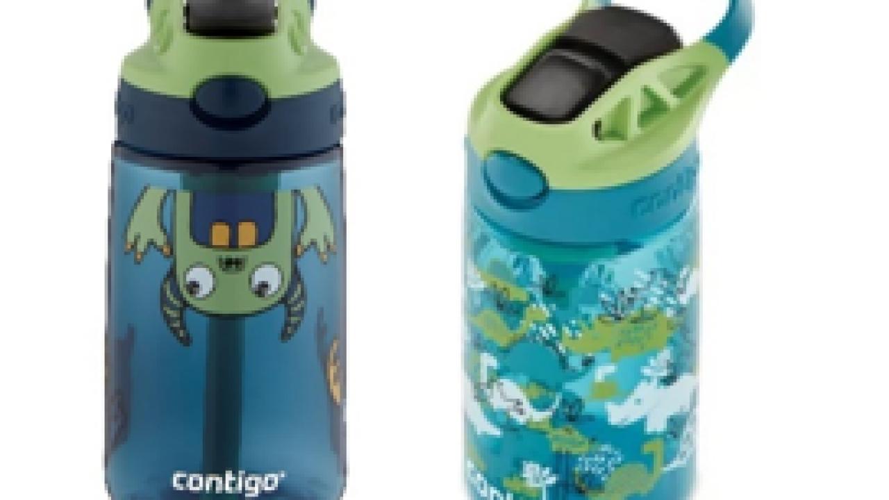Contigo recalls nearly 6 million children's water bottles due to choking hazard