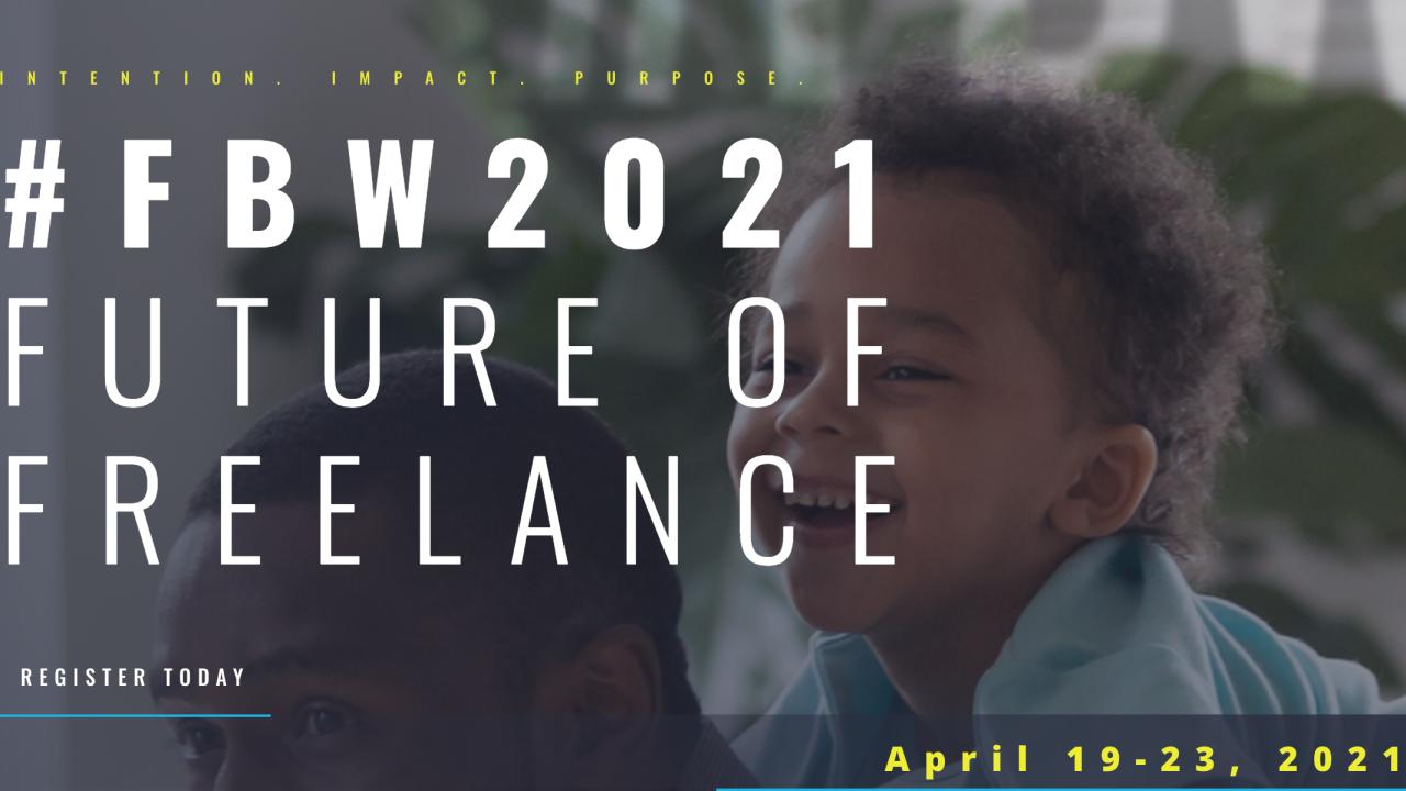 Freelance Business Week starts Monday April 19