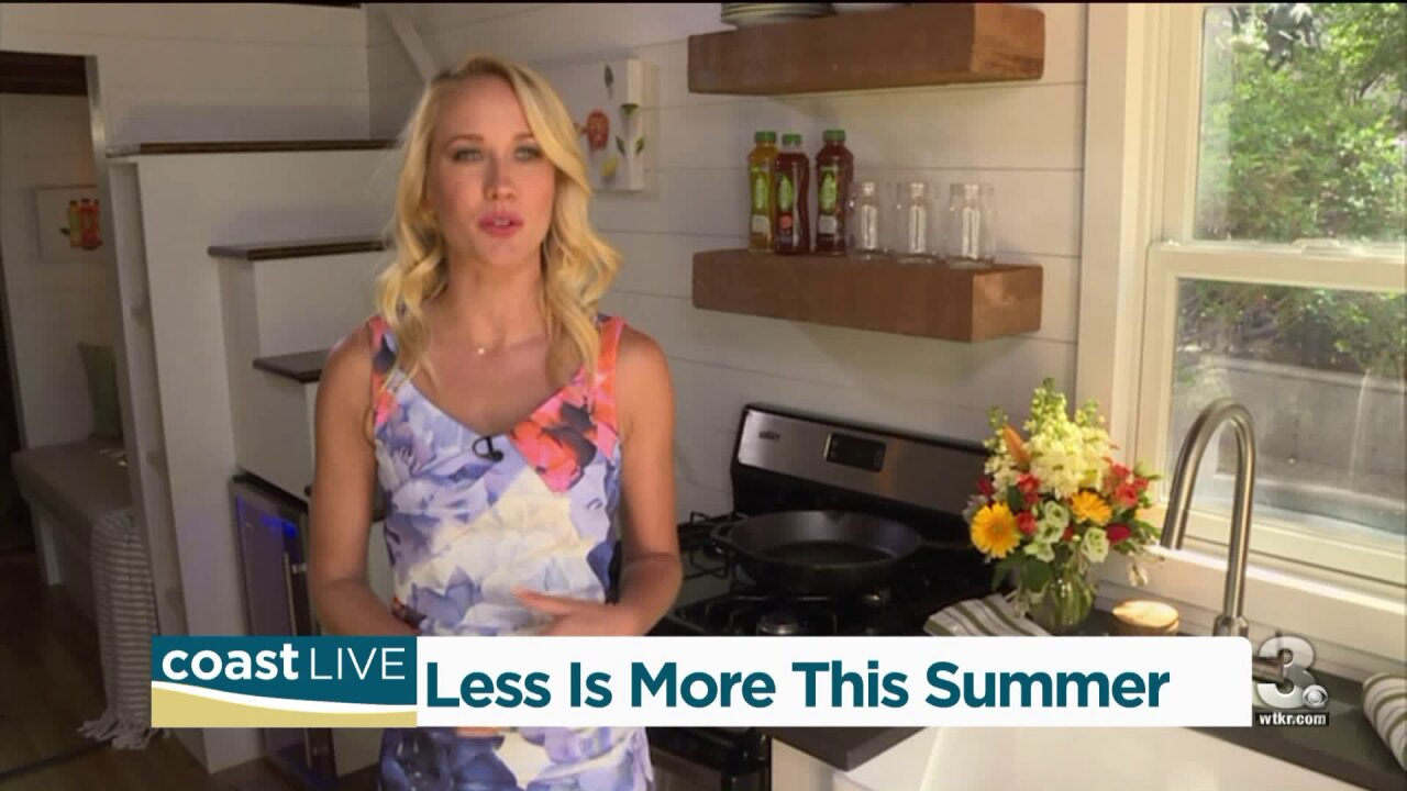 """Actress Anna Camp talks about a """"less is more"""" approach to life on CoastLive"""