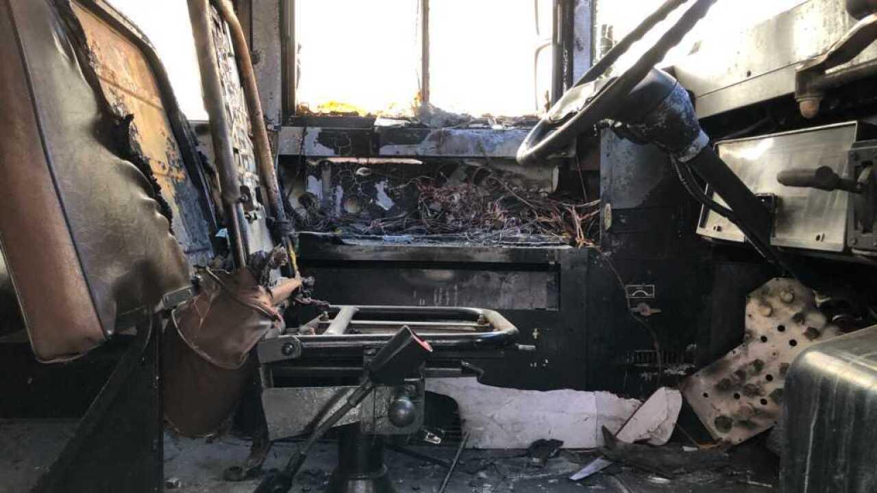 school bus arson nyc