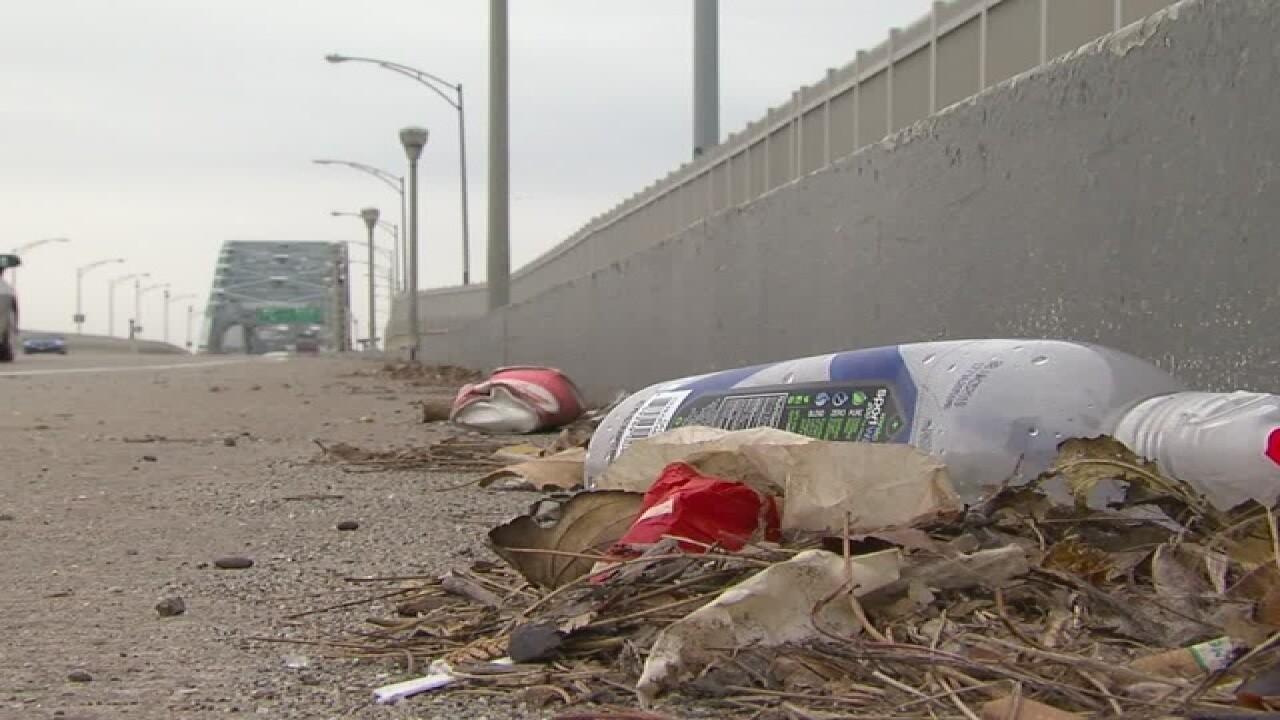 Disgust over the Detroit-Superior bridge