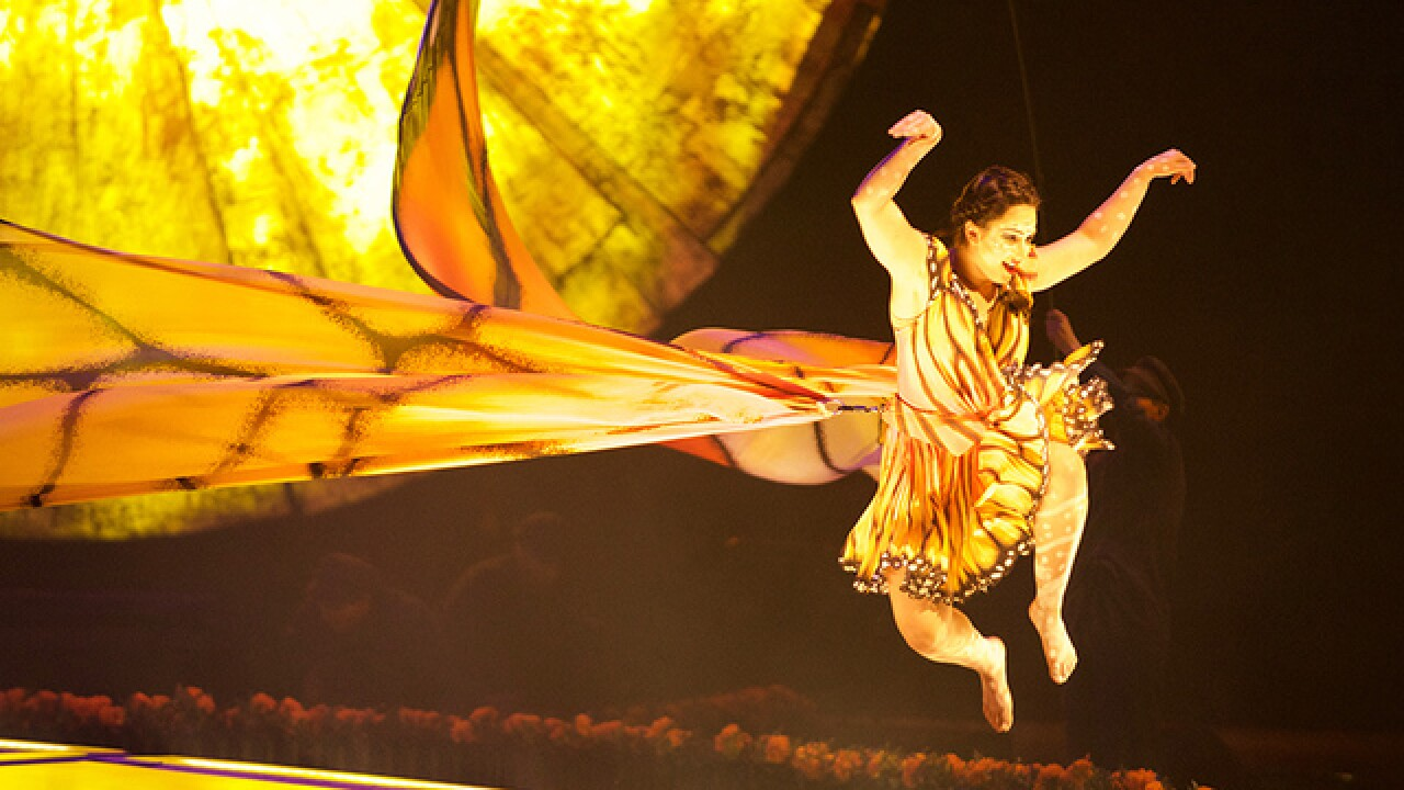 Cirque du Soleil's 'Luzia' comes to Denver's Pepsi Center