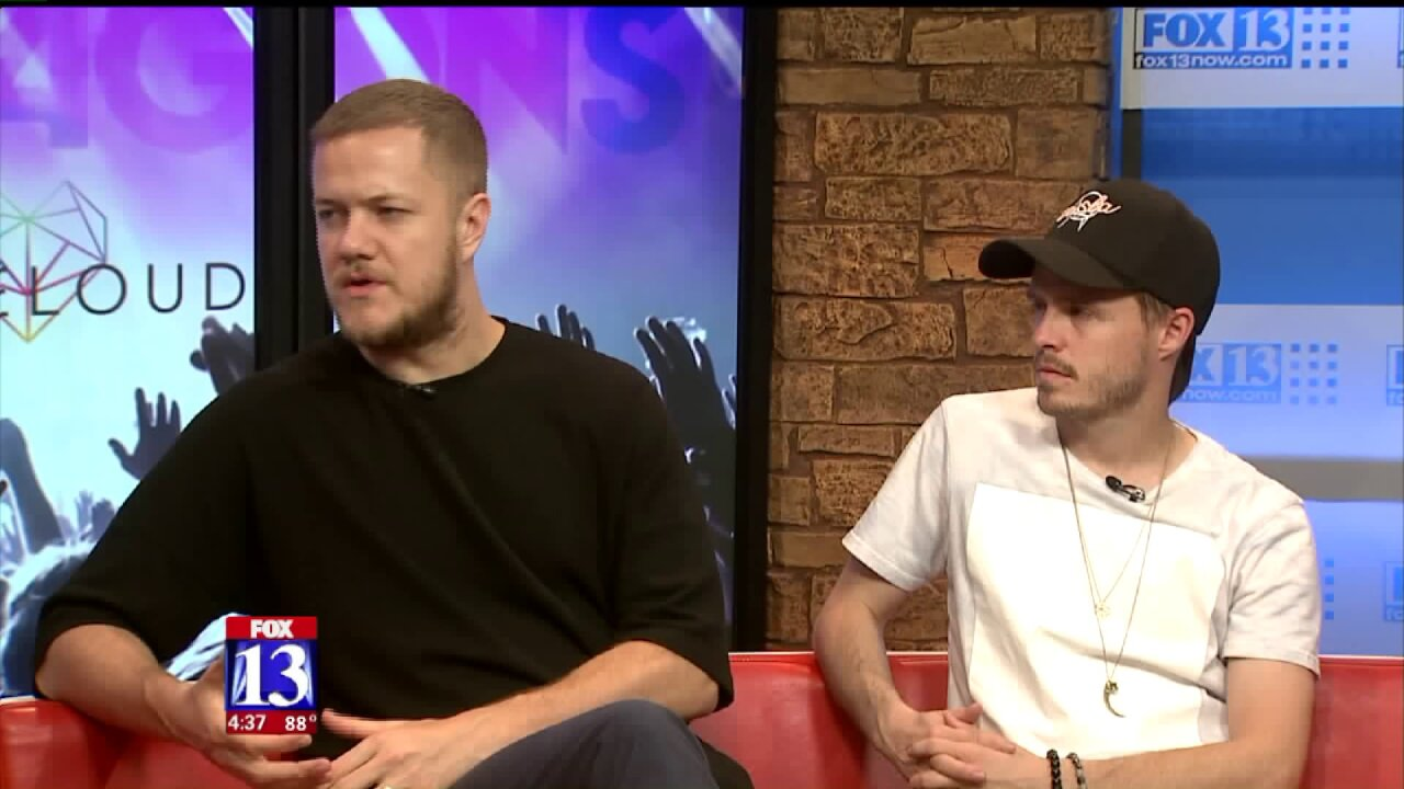 Imagine Dragons frontman addresses challenges LGBTQ youth face ahead of 'LOVELOUDFest'