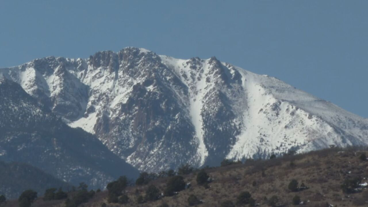 Snowy Mountain Top