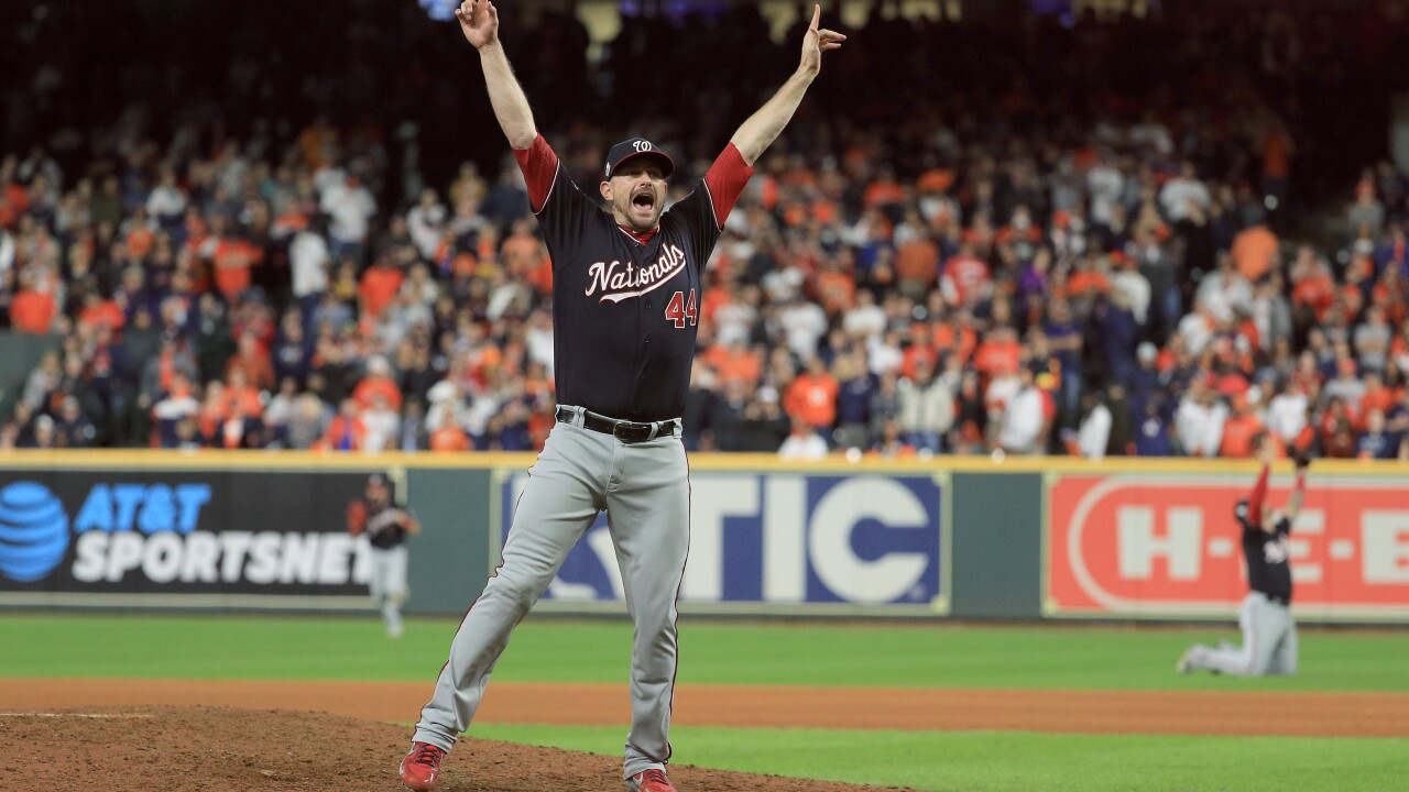 World Series: Wink goes 1-on-1 with Nationals closer, Virginia Beach product DanielHudson
