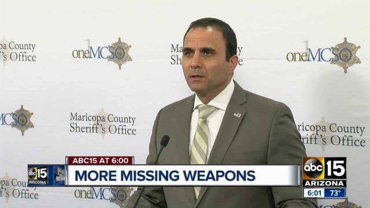 MCSO orders new missing gun probe