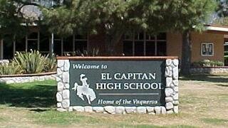 14-year-old arrested for making threats against El Capitan High School