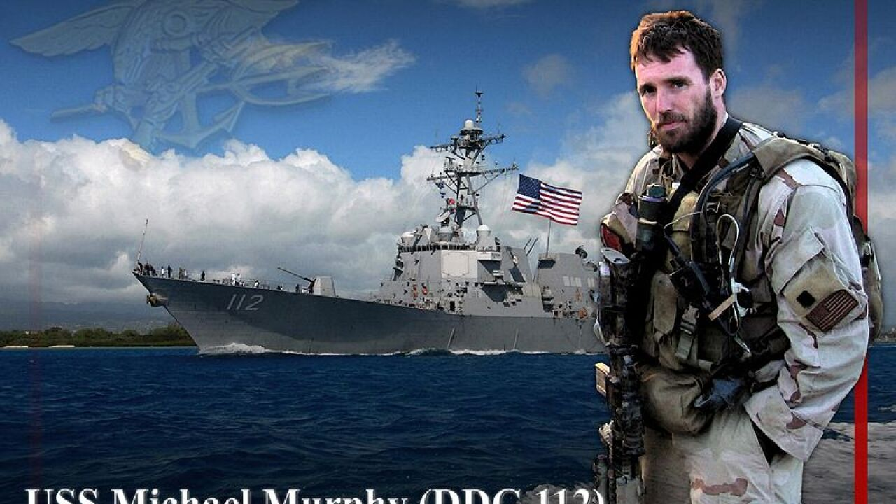 Navy to commission destroyer named for SEAL killed in Operation Red Wings