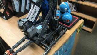 Henderson students learn engineering through robotics